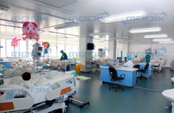 上海市中心医院电子病床