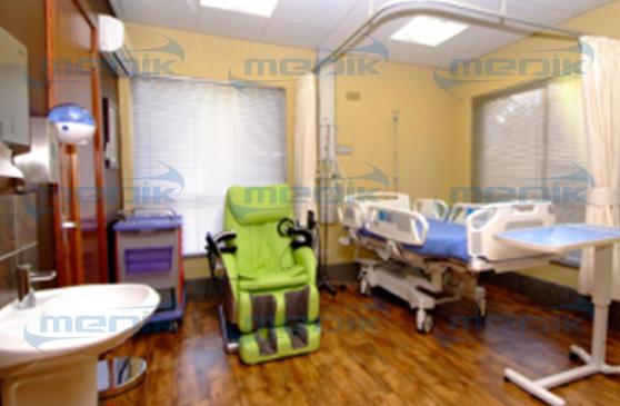 圣保罗医院安装的病床