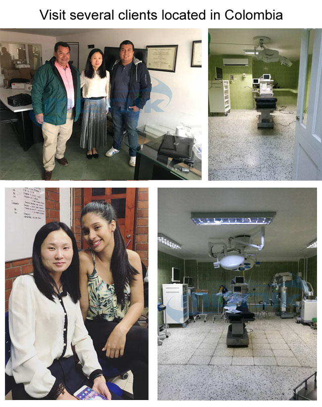 2018年6月,我们访问了哥伦比亚的几家客户