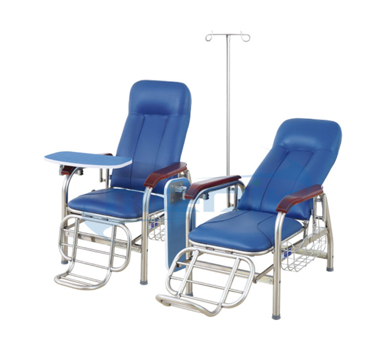 YA-SY01A 不锈钢输液椅