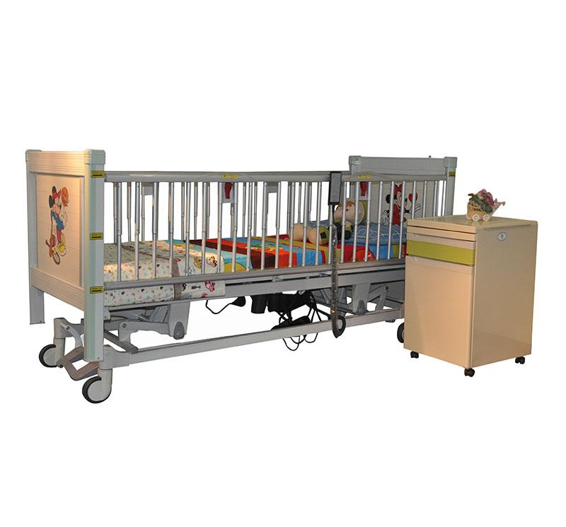 YA-PD5-2 豪华电动医用儿童病床