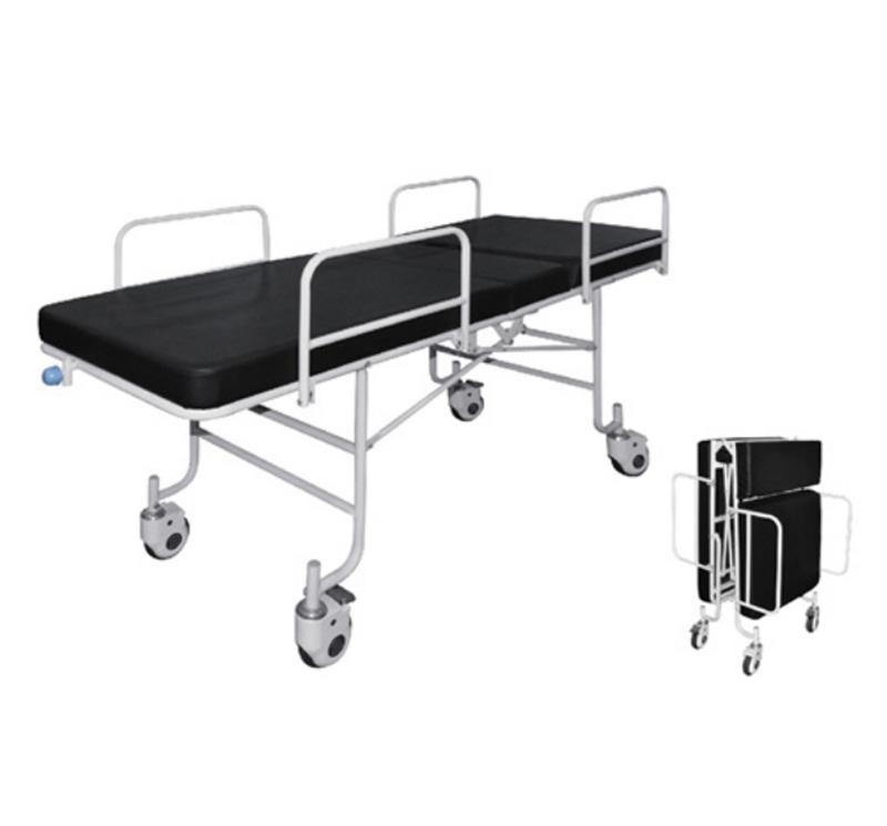 Carro camilla para traslado pacientes manual con respaldo regulable YA-PS11