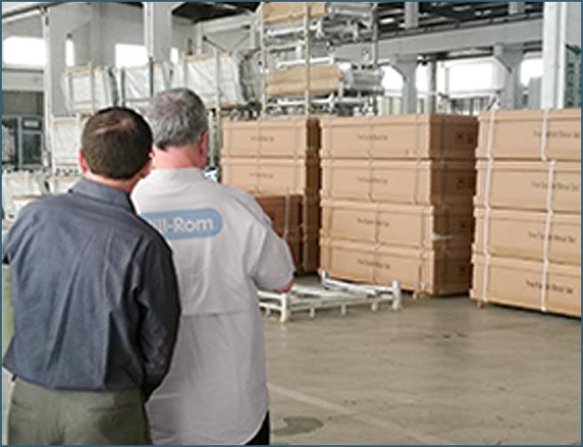 国际顶级品牌巨头来我公司进行OEM服务沟通。