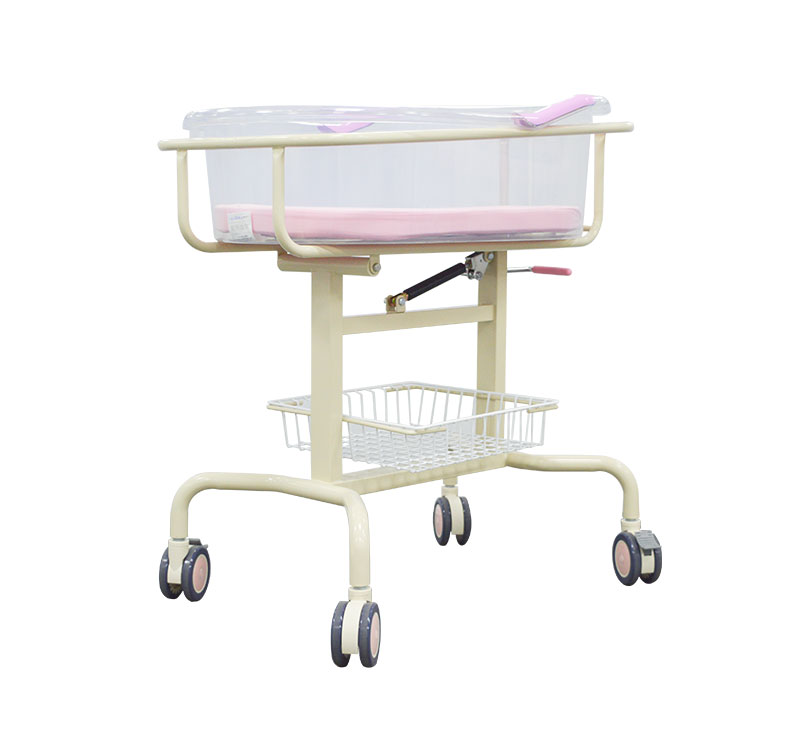 MK-B03 医用塑钢亚克力新生婴儿床
