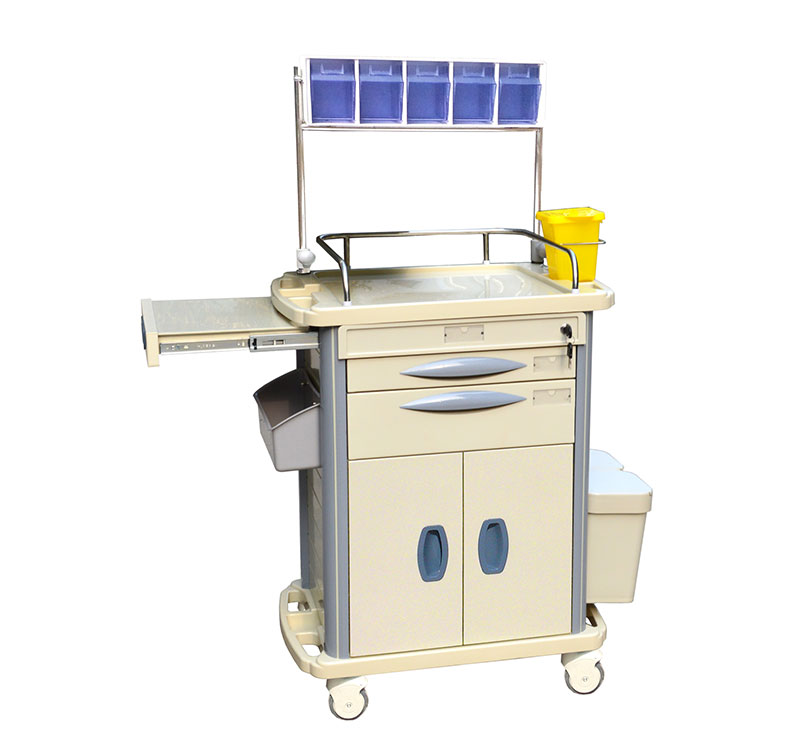 MK-P09 ABS多功能医用麻醉推车